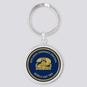 EOD Mobile Unit 2 Round Keychain