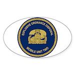 EOD Mobile Unit 2 Sticker (Oval)