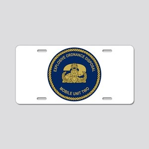 EOD Mobile Unit 2 Aluminum License Plate