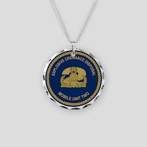 EOD Mobile Unit 2 Necklace Circle Charm