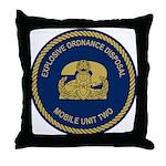 EOD Mobile Unit 2 Throw Pillow