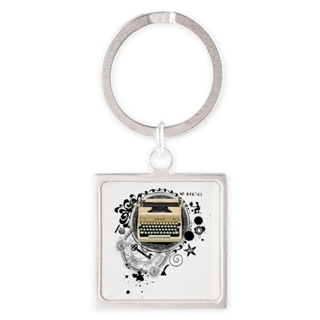Alchemy of Writing Square Keychain