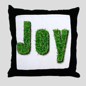 Joy Grass Throw Pillow