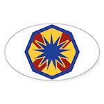 13th ESC Sticker (Oval)