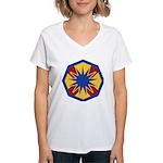 13th ESC Women's V-Neck T-Shirt