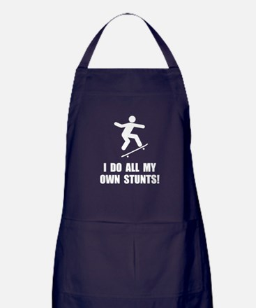 Do Skateboard Stunts Apron (dark)