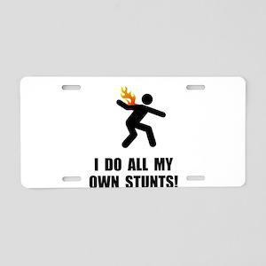 Do Fire Stunts Aluminum License Plate