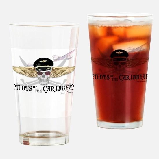 Cute Caribbean Drinking Glass