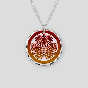 Aoi gradation 2 Necklace Circle Charm