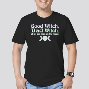 Good Witch, Bad Witch. Men's Fitted T-Shirt (dark)