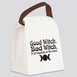 Good Witch, Bad Witch... Canvas Lunch Bag