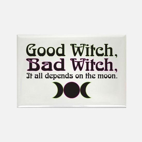 Good Witch, Bad Witch... Rectangle Magnet