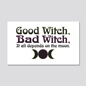 Good Witch, Bad Witch... 20x12 Wall Decal