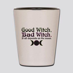 Good Witch, Bad Witch... Shot Glass