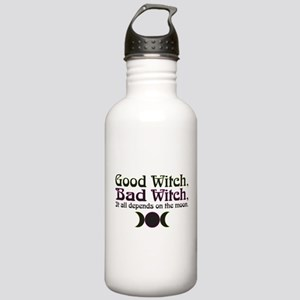 Good Witch, Bad Witch. Stainless Water Bottle 1.0L