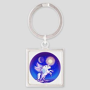 Majestic Unicorn is Majestic Square Keychain