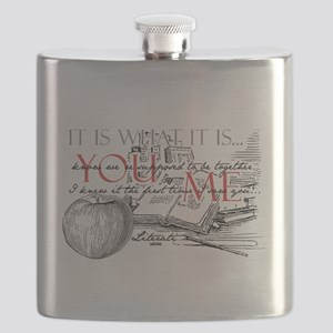 Literati - IT IS WHAT IT IS...YOU...ME... Flask