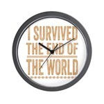 I Survived The End Of The World Wall Clock