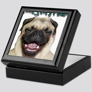 coolstorylaughpug Keepsake Box