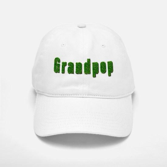 Grandpop Grass Baseball Baseball Cap