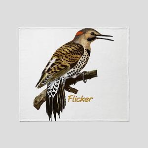 Flicker Throw Blanket