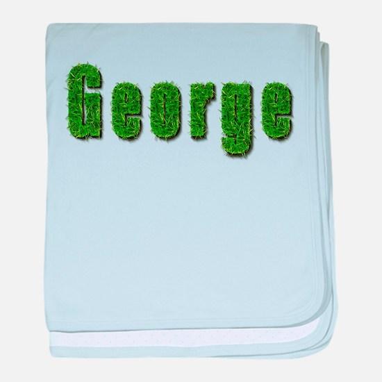 George Grass baby blanket