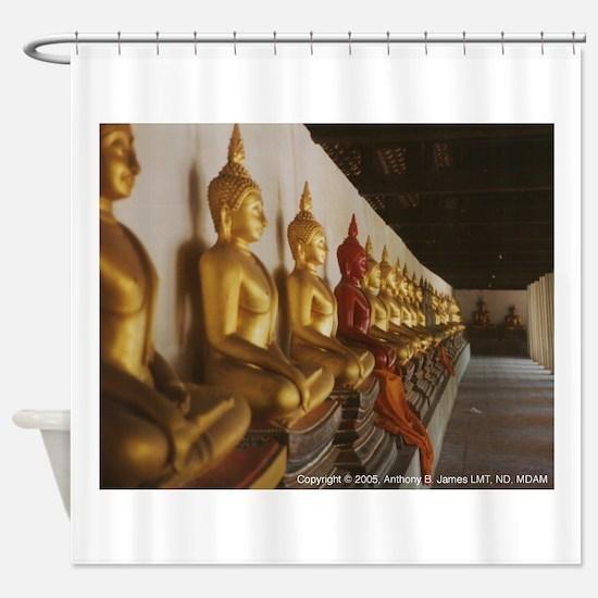 Wat Buddhai Sawan Shower Curtain