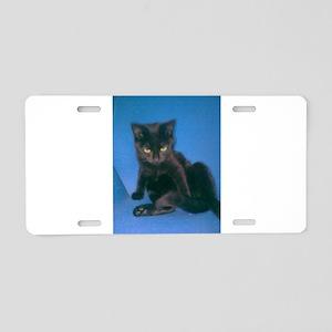BAD CAT Aluminum License Plate