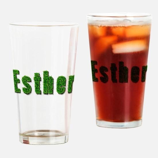Esther Grass Drinking Glass