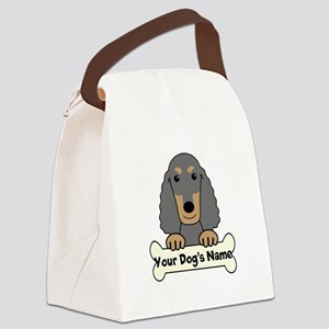 Personalized Field Spaniel Canvas Lunch Bag
