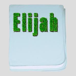 Elijah Grass baby blanket