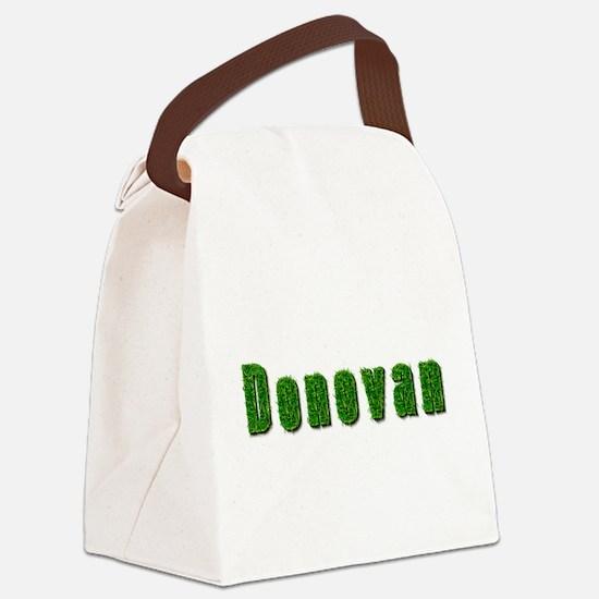 Donovan Grass Canvas Lunch Bag
