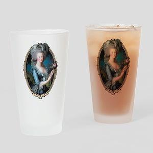 Marie Antoinette Portrait Drinking Glass