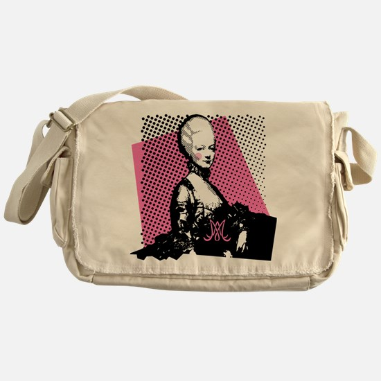 Marie Antoinette Pop Art Messenger Bag