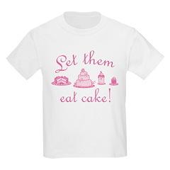 Sweet Pink Let Them Eat Cake T-Shirt