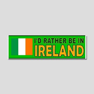 IRELAND BUMPER STICKER Car Magnet 10 x 3