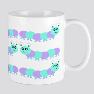 Whimsical Baby Bug Purple Mug