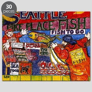 Seattle Fish Market Puzzle