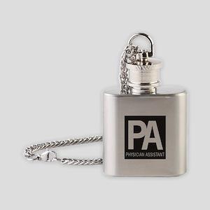 PA Logo Flask Necklace