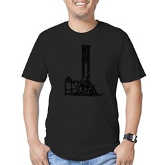 Guillotine Men's Fitted T-Shirt (dark)