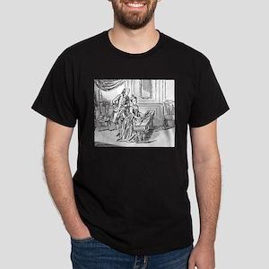 Playing The Harpsichord Dark T-Shirt