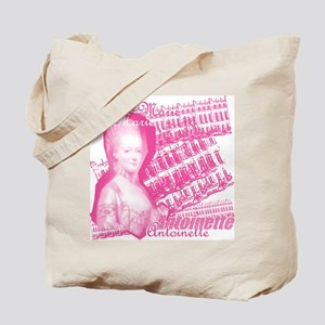 Pink Marie Antoinette Collage Tote Bag