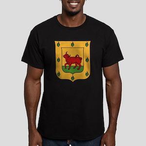 Borgia Coat Of Arms Men's Fitted T-Shirt (dark)