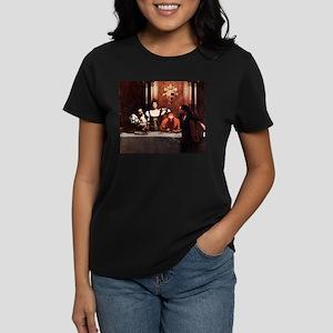 Borgia Family Painting Women's Dark T-Shirt