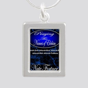 The Names of God Silver Portrait Necklace
