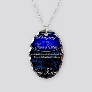 The Names of God Necklace Oval Charm