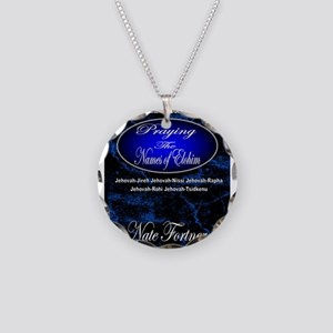 The Names of God Necklace Circle Charm