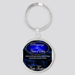 The Names of God Round Keychain