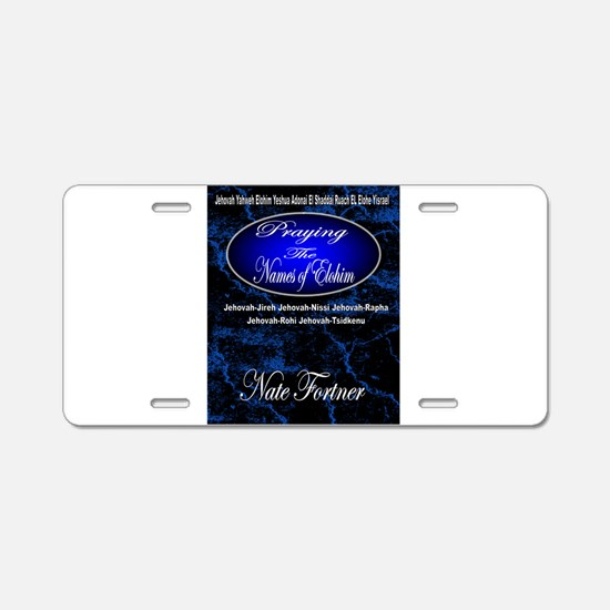 The Names of God Aluminum License Plate