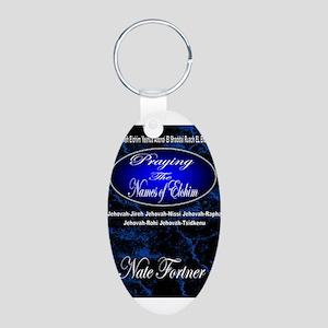 The Names of God Aluminum Oval Keychain